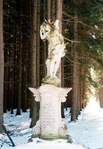 Socha sv. Šebestiána (Jemčina)