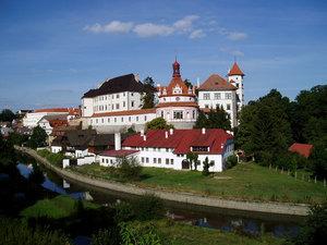 Jindřichohradecký hrad azámek
