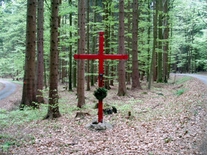 Boží muka Horův kříž (Dubovice)